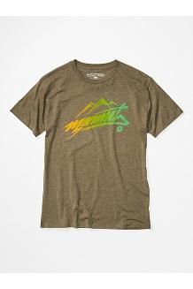 Men's Marmot Rad Short-Sleeve T-Shirt, Olive Heather, medium