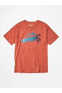 Men's Marmot Rad Short-Sleeve T-Shirt, Picante Heather, medium