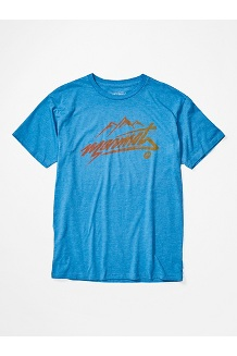 Men's Marmot Rad Short-Sleeve T-Shirt, Royal Heather, medium