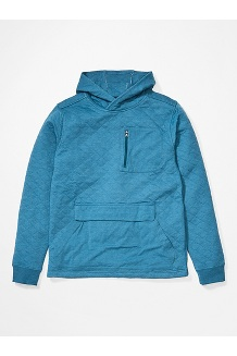 Men's Plyes Peak Hoody, Denim, medium
