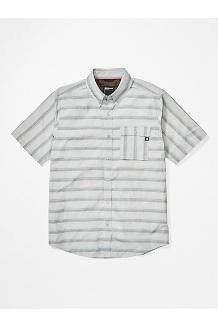 Men's Beacon Hill Short-Sleeve Shirt, Bright Steel, medium