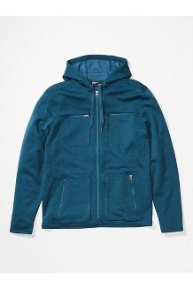 Men's Narrows Fleece Hoody, Denim, medium
