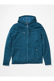 Men's Narrows Fleece Hoody, Denim, medium