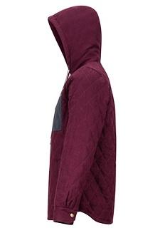 Men's Mt. Rose Insulated Flannel Long-Sleeve Shirt, Fig, medium