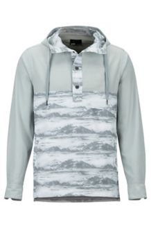 Aerobise Anorak, Bright Steel/White Mountains, medium