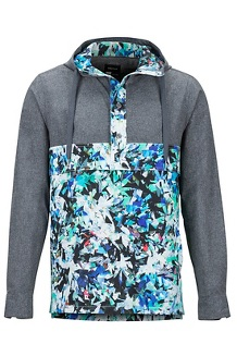 Aerobise Anorak, Dark Steel/Multi Crystals, medium