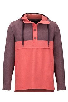 Aerobise Anorak, Burgundy/Blush, medium