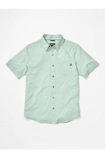 Men's Aerobora Short-Sleeve Shirt, Crushed Mint, medium