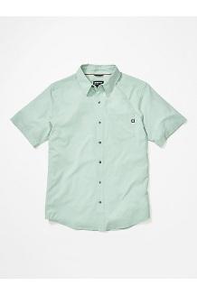 Men's Aerobora Short-Sleeve Shirt, Crushed Mint, medium
