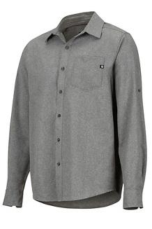 Men's Aerobora Long-Sleeve Shirt, Cinder, medium