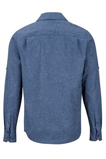 Men's Aerobora Long-Sleeve Shirt, Arctic Navy, medium