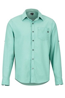 Aerobora LS Shirt, Pond Green, medium