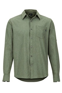 Men's Aerobora Long-Sleeve Shirt, Crocodile, medium