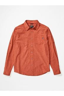 Men's Aerobora Long-Sleeve Shirt, Picante, medium