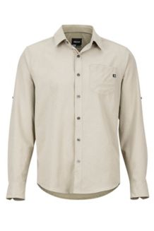 Aerobora LS Shirt, Light Khaki, medium