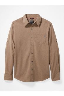 Men's Aerobora Long-Sleeve Shirt, Desert Khaki, medium