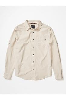 Men's Aerobora Long-Sleeve Shirt, Moonbeam, medium