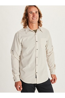 Men's Aerobora Long-Sleeve Shirt, Cinder, medium