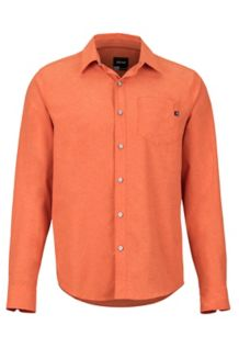 Aerobora LS Shirt, Orange Haze, medium