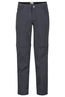 Men's Transcend Convertible Pants - Short, Black, medium