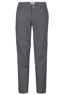 Men's Transcend Convertible Pants - Short, Slate Grey, medium