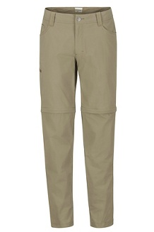 Men's Transcend Convertible Pants - Short, Cavern, medium