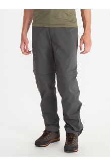 Men's Transcend Convertible Pants, Slate Grey, medium