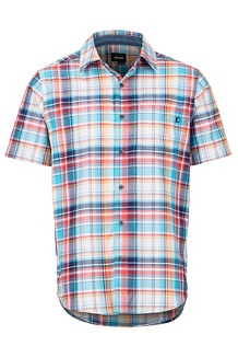 Syrocco SS Shirt, Blue Sea, medium