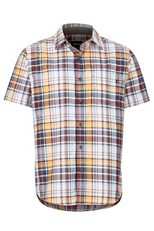 Syrocco SS Shirt, Sienna Red, medium