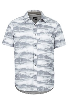 Syrocco SS Shirt, White Mountains, medium