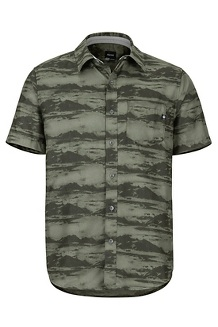 Syrocco SS Shirt, Crocodile Mountains, medium