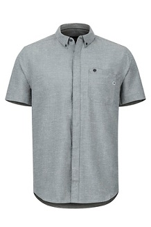 Cooper Canyon SS Shirt, Slate Grey, medium