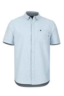 Cooper Canyon SS Shirt, Celestial Blue, medium