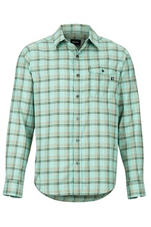 Aerofohn LS Shirt, Pond Green, medium