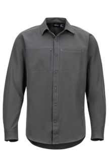 Lisgar LS Shirt, Slate Grey, medium