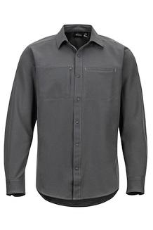 Men's Lisgar Long-Sleeve Shirt, Slate Grey, medium