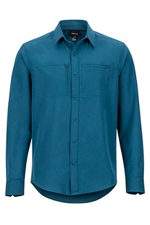 Lisgar LS Shirt, Denim, medium