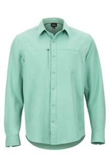 Lisgar LS Shirt, Pond Green, medium