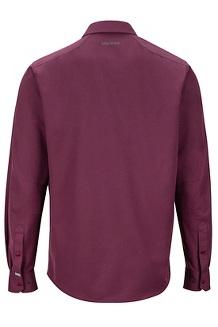 Men's Lisgar Long-Sleeve Shirt, Fig, medium