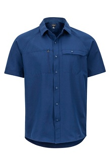 Danfield SS Shirt, Arctic Navy, medium