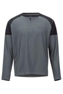 Bowery LS Shirt, Slate Grey/Black, medium