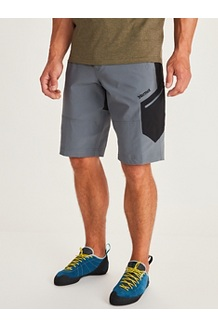 Men's Limantour Shorts, Steel Onyx/Black, medium