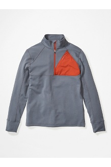Men's Hanging Rock 1/2-Zip Pullover, Steel Onyx/Picante, medium