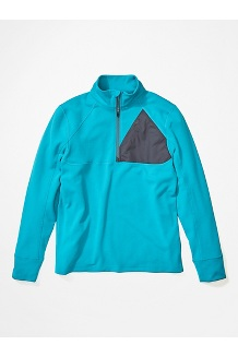 Men's Hanging Rock 1/2-Zip Pullover, Enamel Blue/Steel Onyx, medium