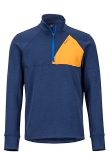 Hanging Rock 1/2 Zip Pullover, Arctic Navy/Aztec Gold, medium