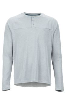 Handley LS Shirt, Steel Onyx, medium