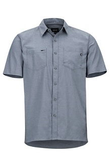 Men's Innesdale Short-Sleeve Shirt, Steel Onyx, medium
