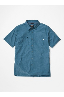 Men's Innesdale Short-Sleeve Shirt, Denim, medium