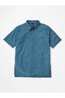 Men's Innesdale Short-Sleeve Shirt, Denim, medium