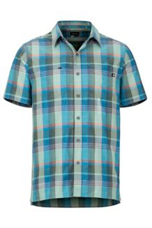 Innesdale SS Shirt, Pond Green, medium
